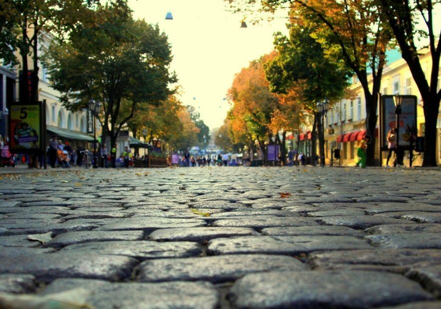Улица Дерибассовская