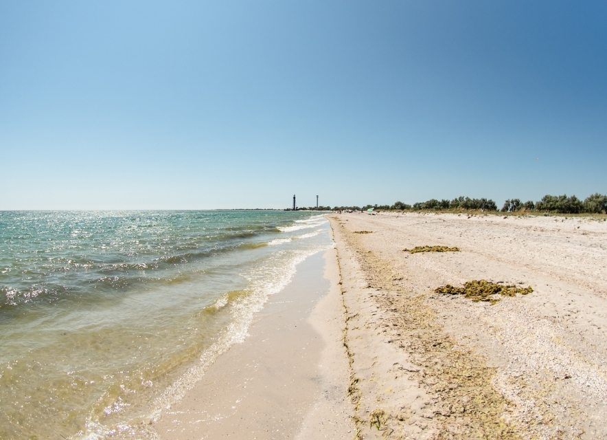 Пляж Джарылгача
