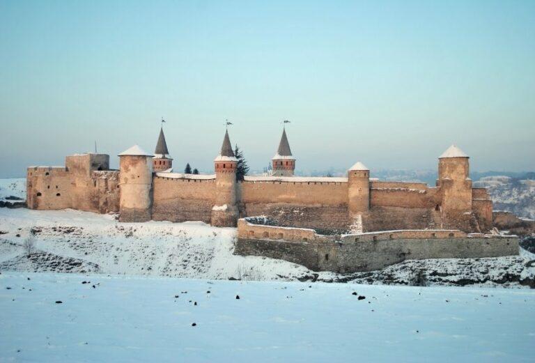 Зимова Кам'янець-Подільська фортеця