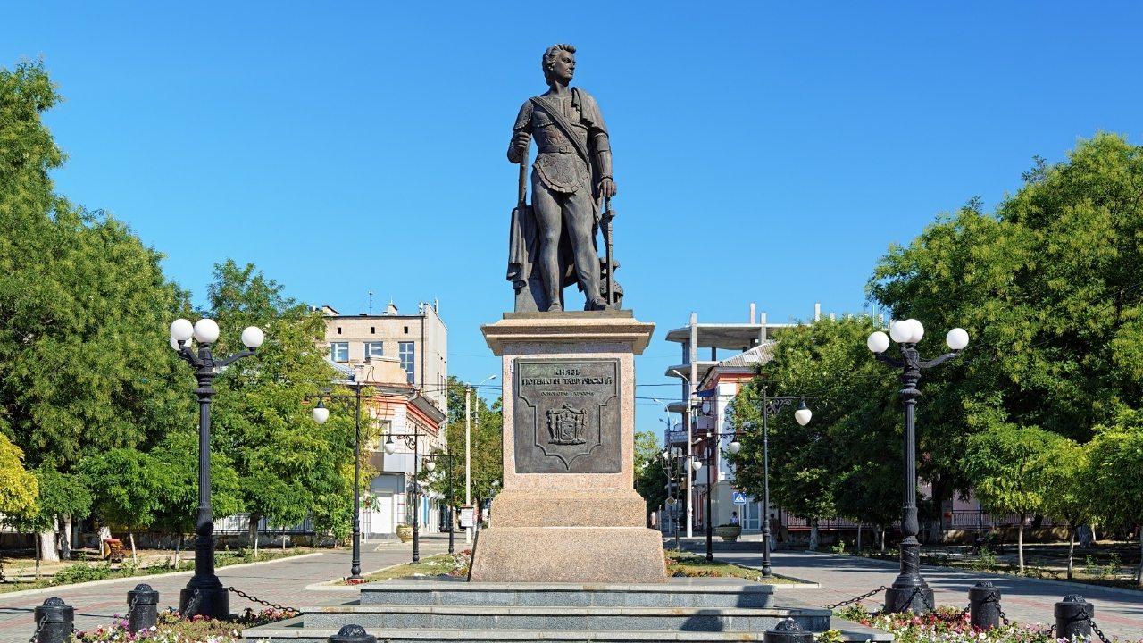 Памятник Григорию Потемкину