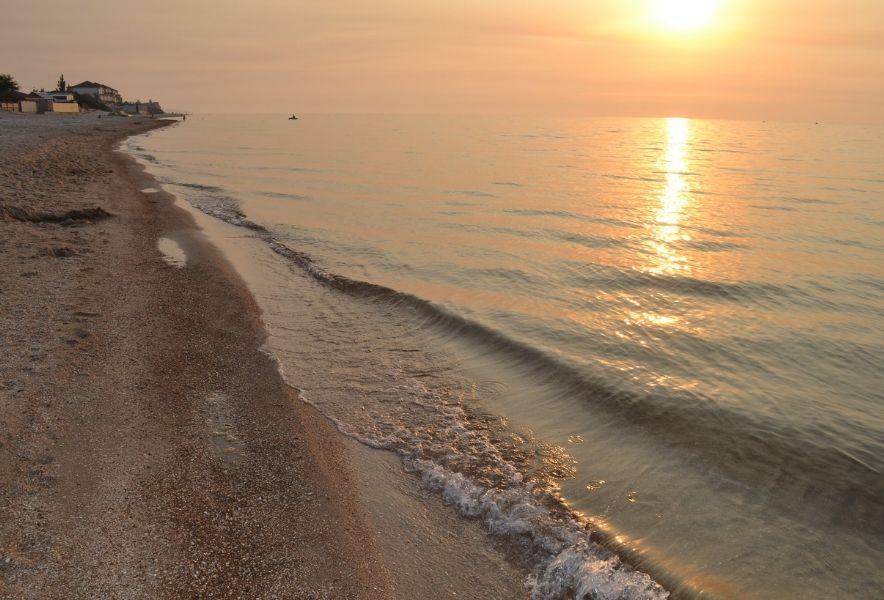 Море на Белосарайской косе
