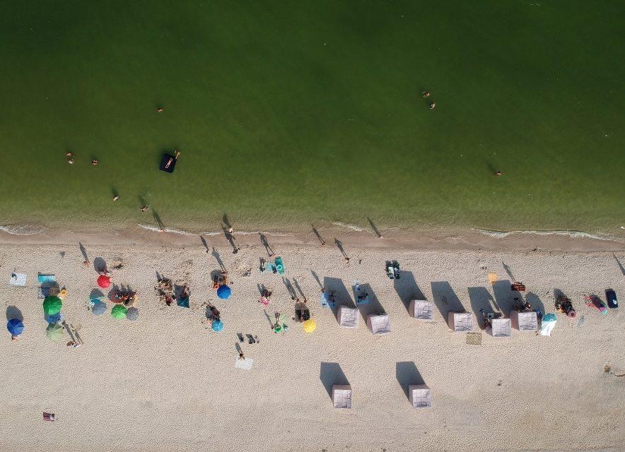 Пляж на Арабатській Стрілці