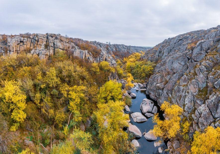 Каньон в Николаевской области