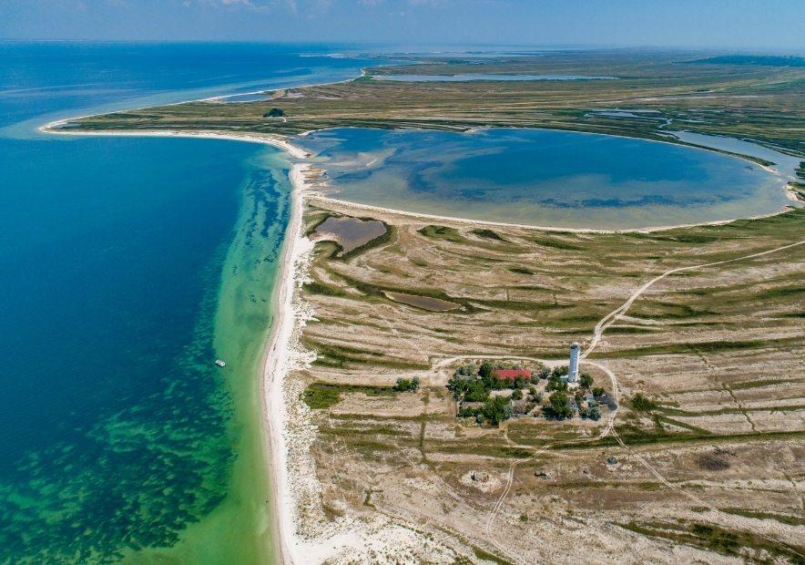 Остров Бирючий, Херсонская область