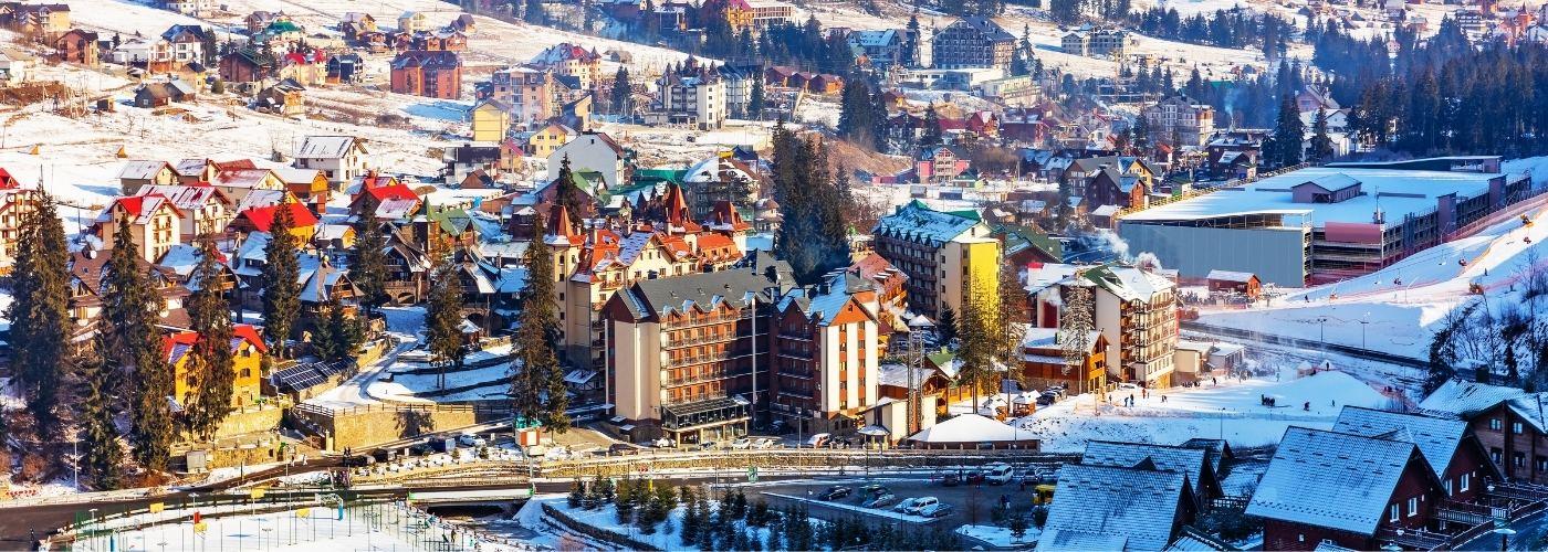 Куда поехать зимой в Украине?