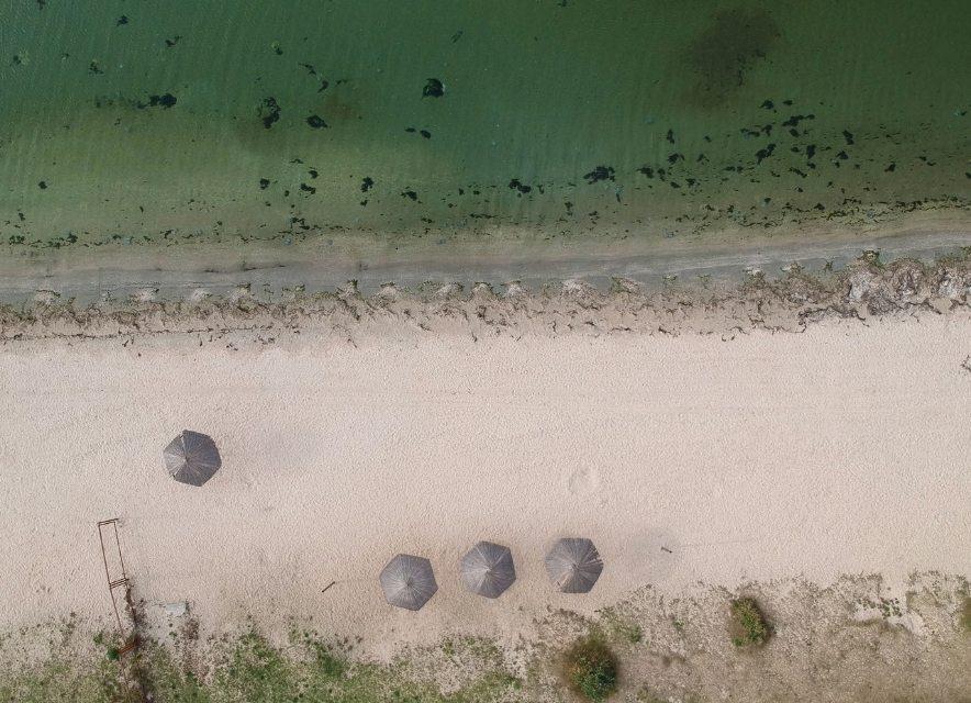 Пляж у Щасливцево