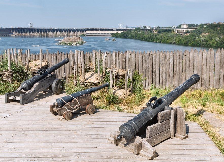 Пушки на Сечи