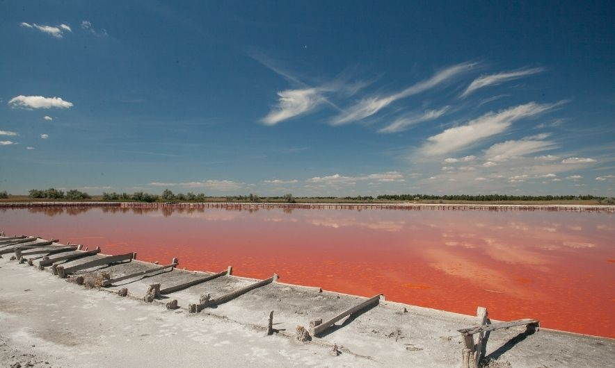 Рожеві озера Кінбурна