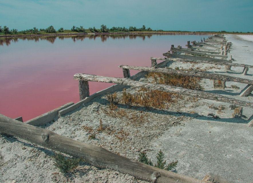 Рожеве озеро, Кінбурн