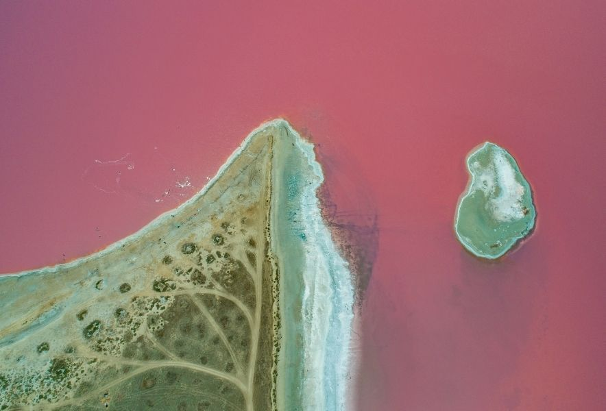 Розовое озеро, Ивановка