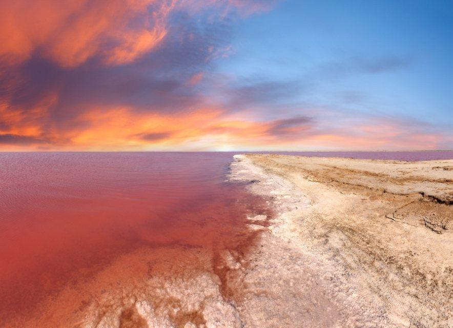 Рожеве озеро Сиваш