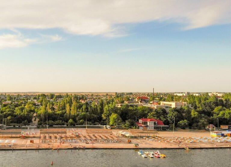 Скадовск набережная