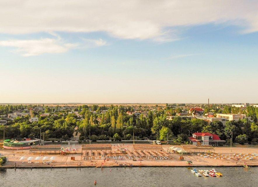 Скадовськ - вид на пляж
