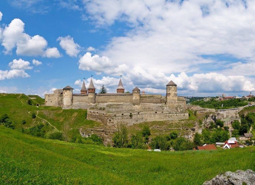 Старый замок Каменца-Подольского
