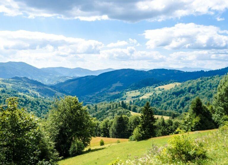 Карпаты — горная жемчужина Украины