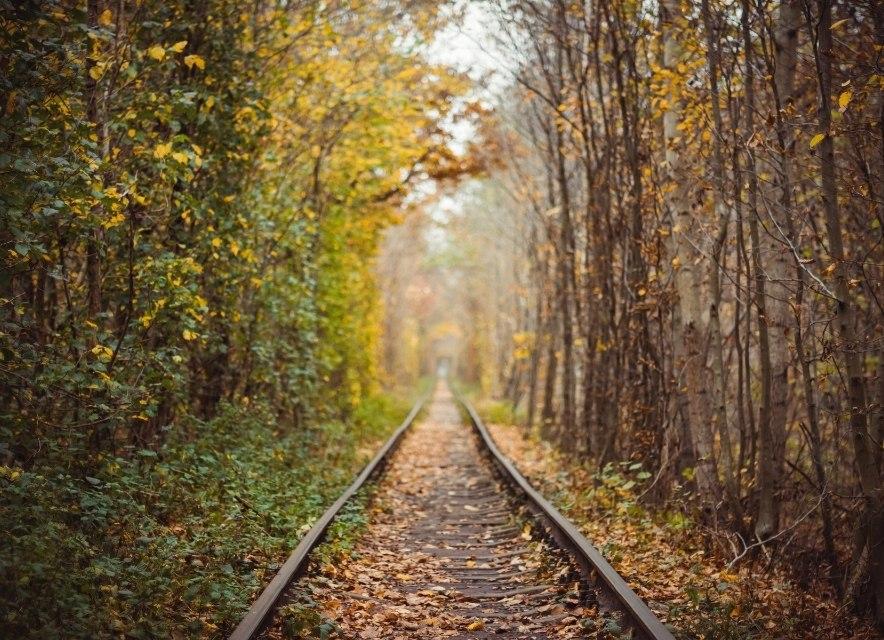 Тунель Любові восени