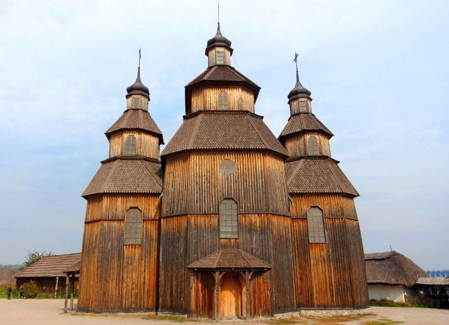 Церковь на хортице