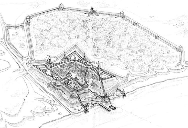 Крепость Тягин