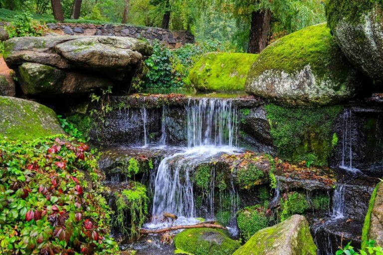 Умань водопад