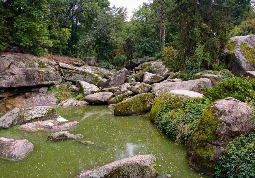 Камені в парку