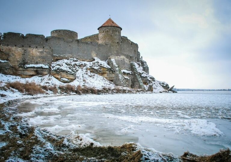 Аккерманская крепость зимой