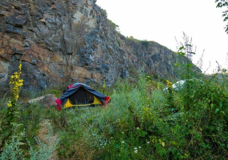 Отдых в палатках в Букском каньоне