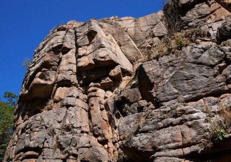 Скала в Букском каньоне