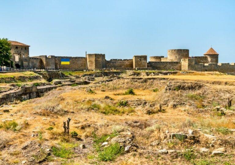 Стены Аккерманской крепости