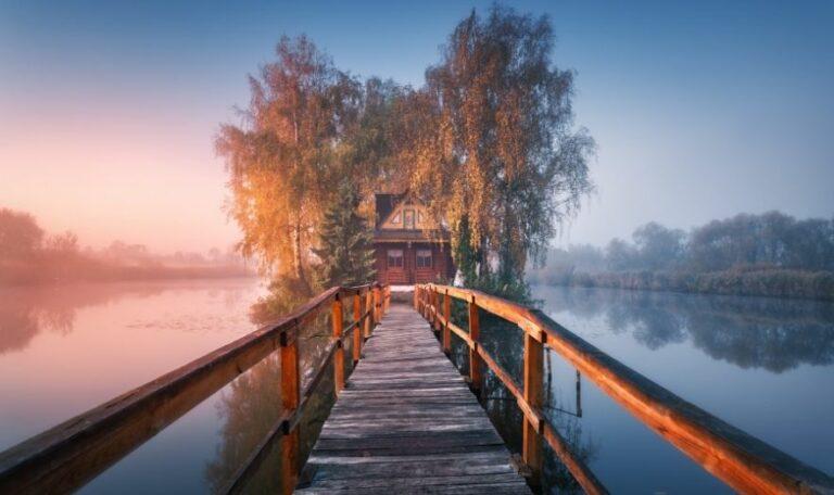 Дом рыбака, Житомирская область