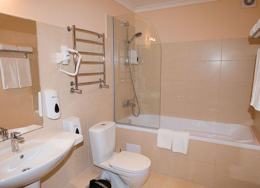 Ванна кімната в готелі