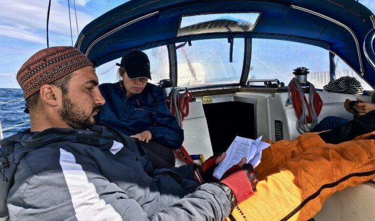 Экипаж яхты Бавария