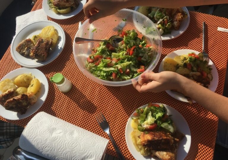Средиземноморский обед