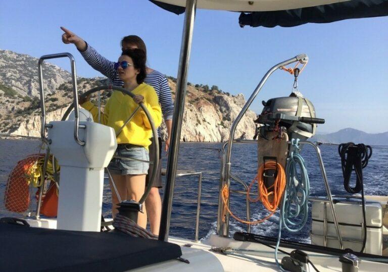 Обучаем азам яхтинга