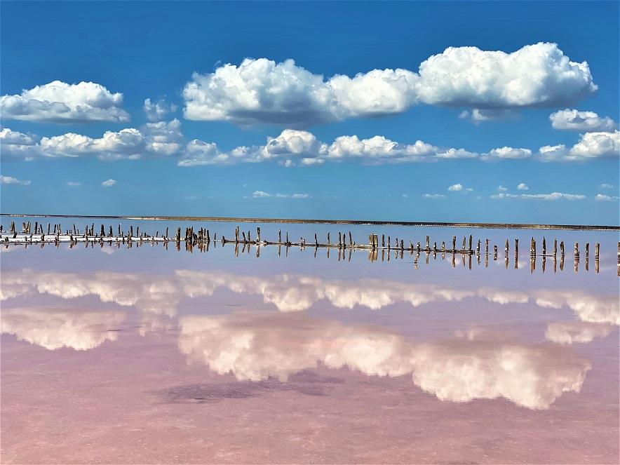 Зеркало из воды и соли