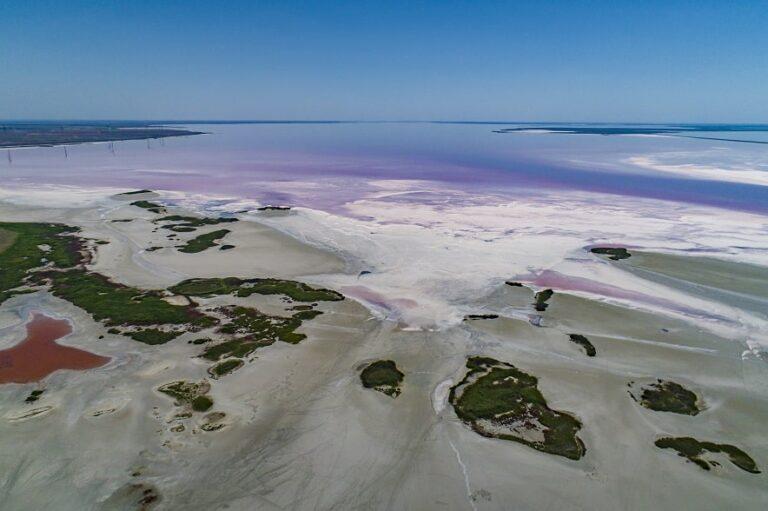 Соленые берега Сиваша