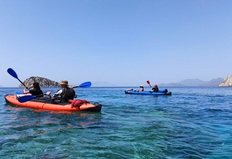 морской каякинг в Турции