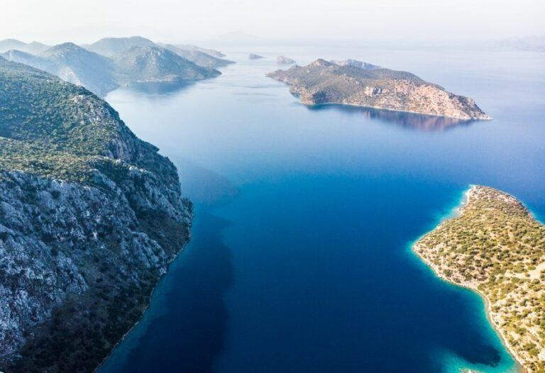 Вид на турецкие острова