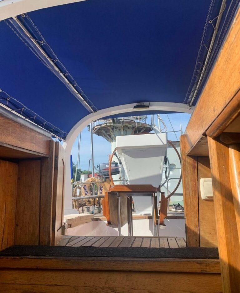 Вид из яхты