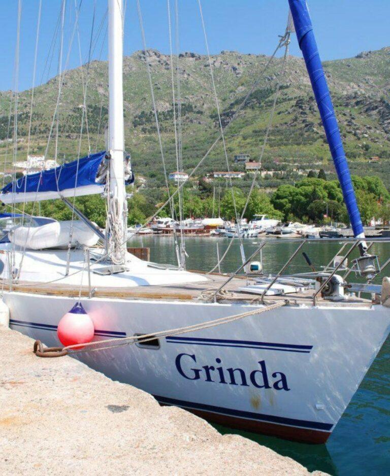 Яхта Гринда