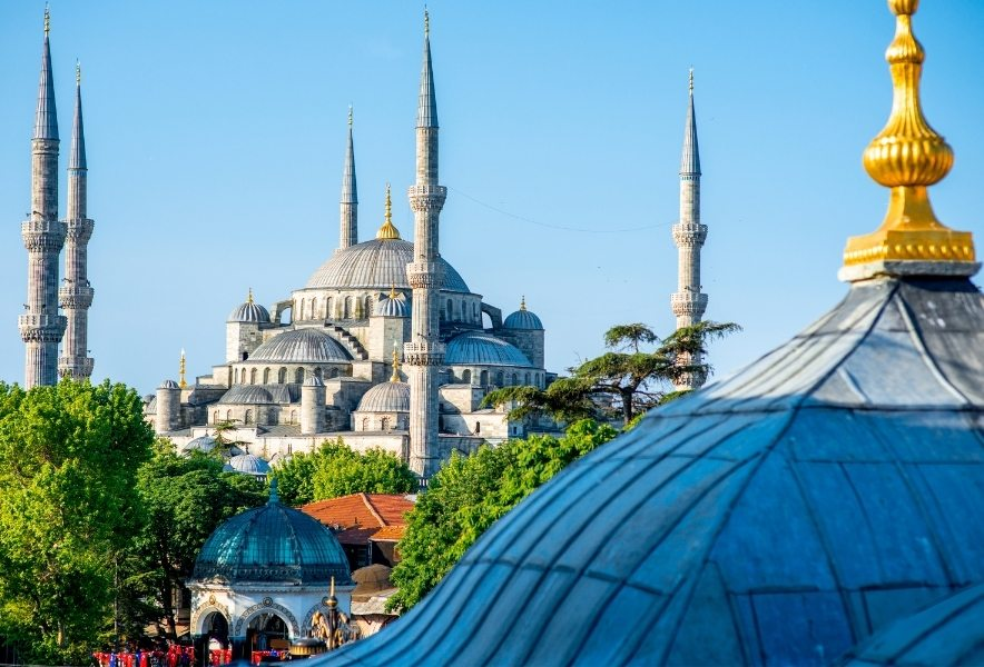 Исторический центр в Стамбуле