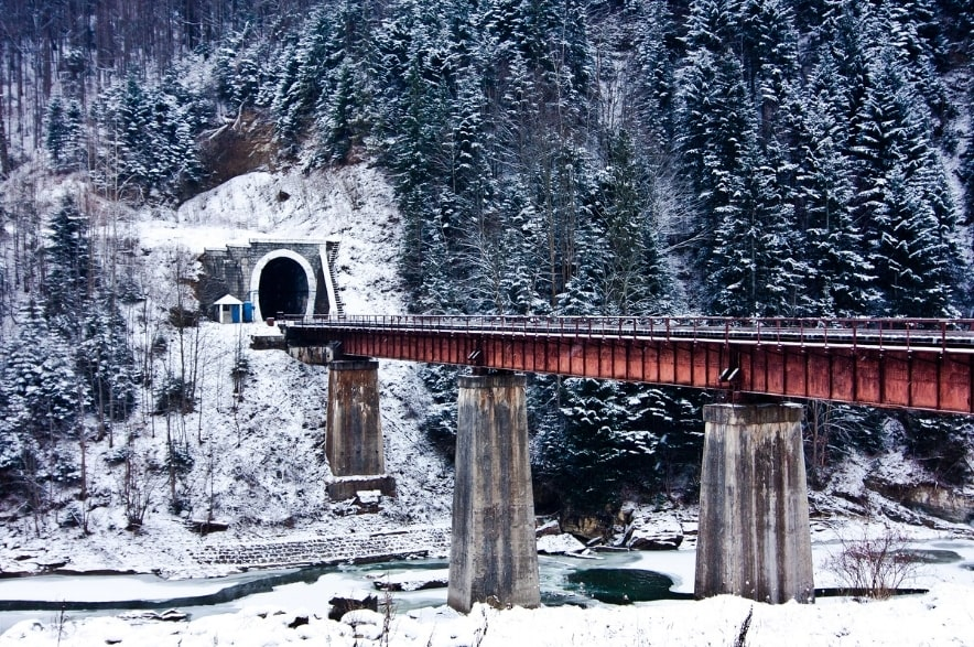 Міст в Яремче