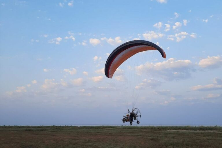 Полеты на паратрайке в Херсоне