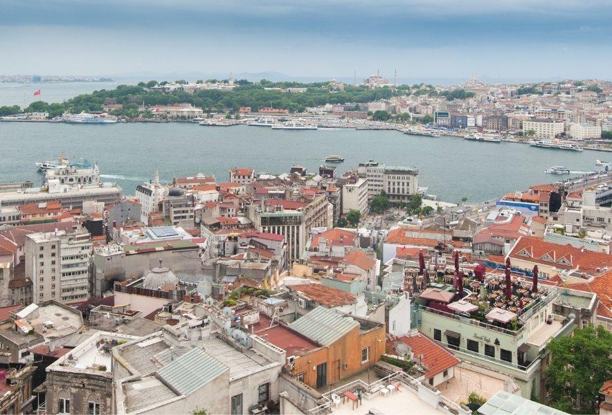 Тур в Стамбул по крышам