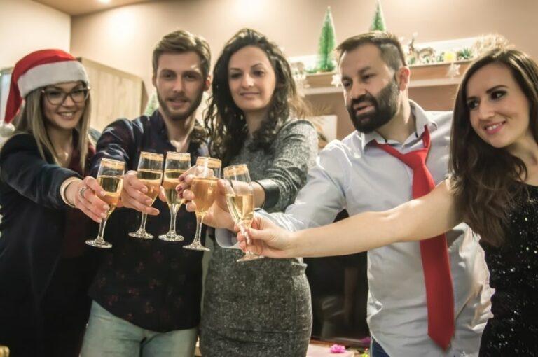 Празднование Нового года в Карпатах