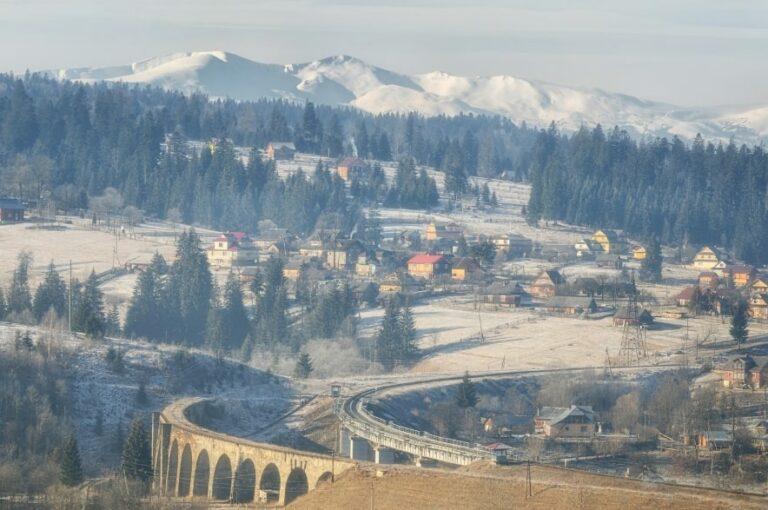 Мост-виадук в Ворохте